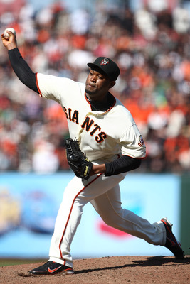 Santiago Casilla was a top prospect in the A's organization before joining the San Francisco Giants in 2010