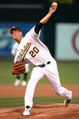 Mark Mulder was a stud for the A's but ended his career early in St. Louis due to injury.