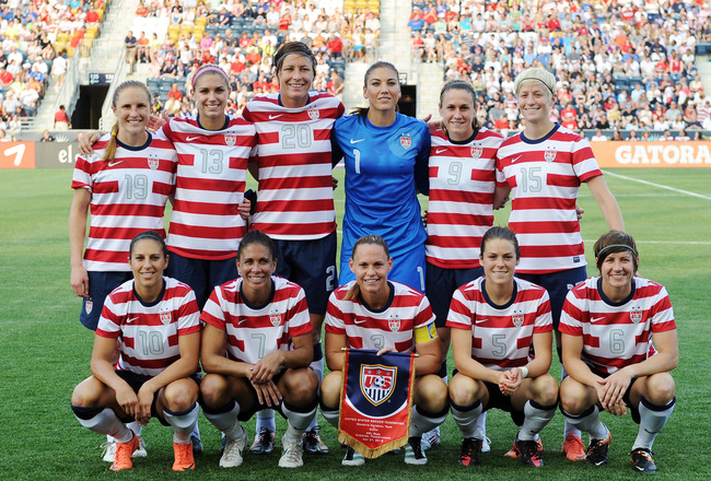 US Womens National Soccer Team Plays In Phoenix