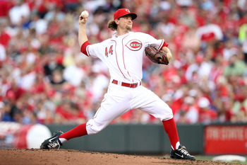 Reds 2009 first round draft pick, Mike Leake
