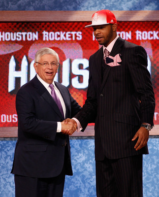 The Rockets drafted forward Marcus Morris in the first round last year.