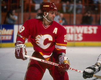 Doug Gilmour's third period tally won a Stanley Cup for Lanny McDonald and the Calgary Flames. (Photo Credit: FlamesNation.ca)