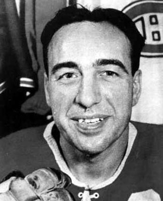 Montréal's Toe Blake netted the overtime winner in the 1944 Stanley Cup Final. (Photo Credit: GreatestHockeyLegends.com)