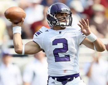 Northwestern Quarterback Kain Colter