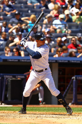 The most expensive man in baseball: Alex Rodriguez.