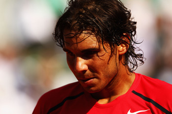 Rafael Nadal at the 2012 French Open