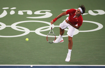 Roger Federer at the 2008 Olympic Games