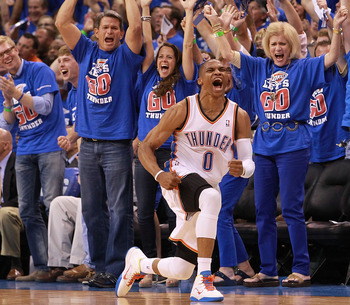 Bad news for the Western Conference, Russell Westbrook won't be old anytime soon.