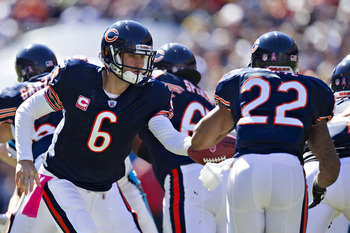 If Matt Forte can come back 100%, the Bears will be a tough team to beat in 2013.