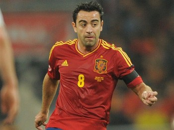 Xavi, the heartbeat of La Roja.