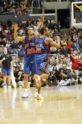 Allan Houston and Latrell Sprewell led the Knicks to the 1999 NBA Finals
