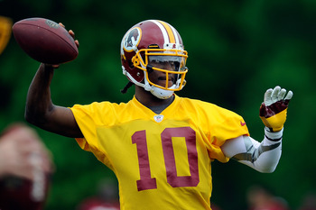 Robert Griffin III has the potential to have the kind of fantasy season that Cam Newton did in his rookie year.