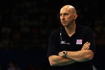 U.S. women's national volleyball team coach Hugh McCutcheon.