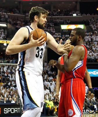 Grizzlies' center Marc Gasol