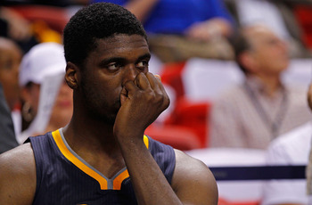 Pacers' center Roy Hibbert