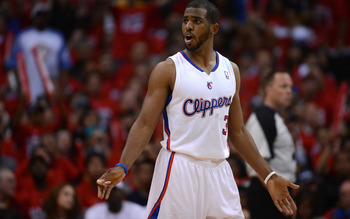 Clippers' point guard Chris Paul