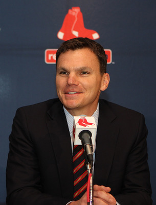 Red Sox general manager Ben Cherington.