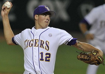 LSU's Kevin Gausman; Photo via CollegeBaseball360.com