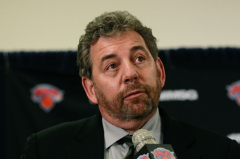 It's not as if James Dolan has a track record on hiring to be proud of.