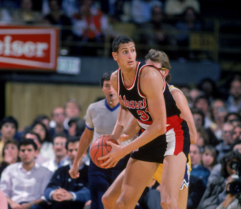 Sam Bowie is still a sore subject with Blazers fans.