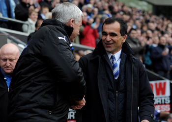 Pardew and Martinez: Both shock underdogs
