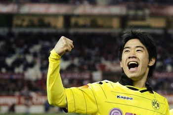 Kagawa: Bags packed for Old Trafford?