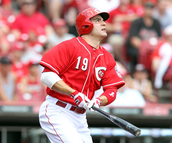 Joey Votto now leads the NL with a 1.060 OPS.