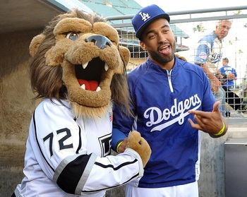 It's all good when Kemp's left hamstring isn't roaring at him. (Jayne Kamin-Oncea-US PRESSWIRE)