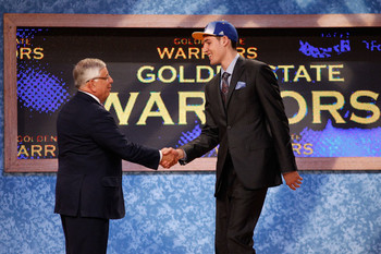 Klay Thompson being selected in the 2011 NBA Draft
