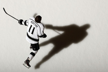 With 7 goals and 9 assists, in addition to his leadership, Anze Kopitar has been the Kings' most valuable skater this postseason.