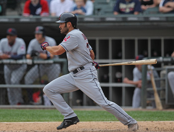 Johnny Damon is only hitting .171 with the Indians this year