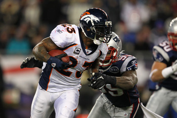Willis McGahee is going to have a significantly reduced role in 2012.