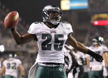 LeSean McCoy did a lot of celebrating in 2011.