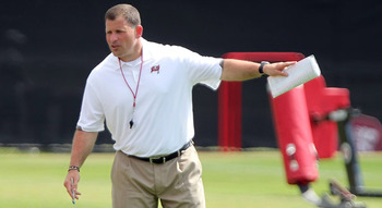 Greg Schiano has rules and guidelines that must be followed to the letter (photo courtesy of US Presswire).