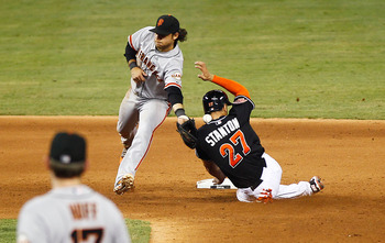 The Giants held their ground against the Marlins, even with some quality defense.