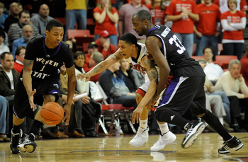 Lillard (left) is considered to be one of the best point guards in the upcoming draft.