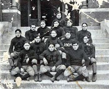 Coach Mike Donahue won his first national title with the Tigers in 1904.