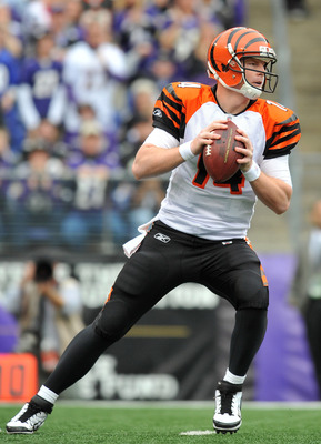 So many young receivers working to get up to speed may cause Andy Dalton's numbers to drop in 2012.