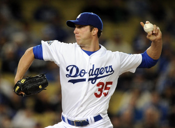 Chris Capuano's 2.14 ERA ranks third in the National League.