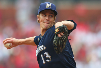 Zack Greinke's 69 strikeouts rank fourth in the NL.