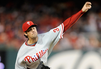 Cole Hamels has been the Phillies' ace starting pitcher this season.