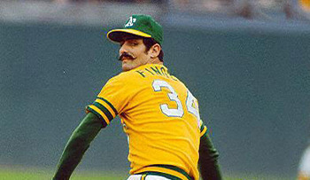 Rollie Fingers was known for his moustache
