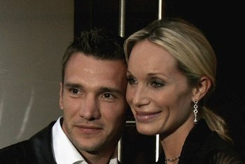 Andriy Shevchenko with Kristen Pazik