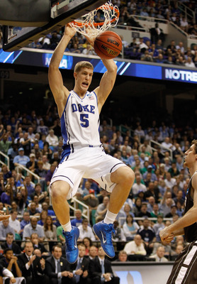 Plumlee can play on both ends of the floor.