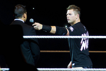 The Miz photo by Flickr's interbeat via Creative Commons