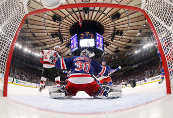 Both goalies played great in the playoffs, but will Lundqvist's earlier exit hurt him?