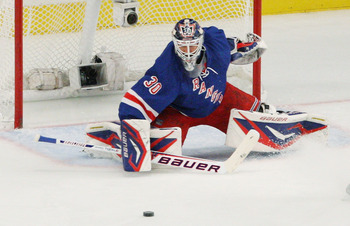 Henrik Lundqvist won 39 games in 2011-2012, the most in his career.