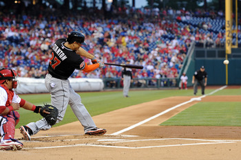 Giancarlo Stanton has a monster month of May at the plate.