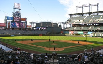 Coors Field is located in the great LoDo neigborhood (http://blog.foodservicewarehouse.com/Wine-and-Dine/tag/coors-field/)