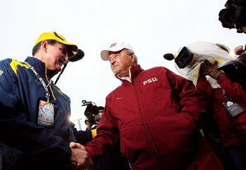 Bobby Bowden helped establish relationships with FSU and other Big 12 schools.